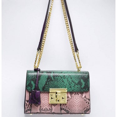 Snake embossed crossbody bag for women | beanbing bag supplier