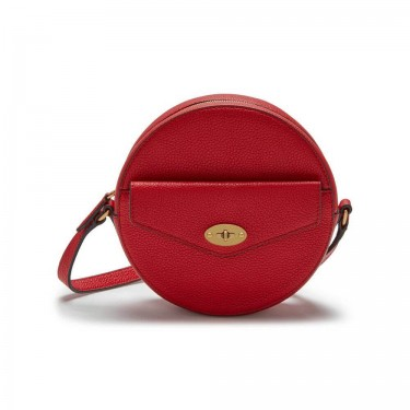 Mini Red Small round crossbody Bags