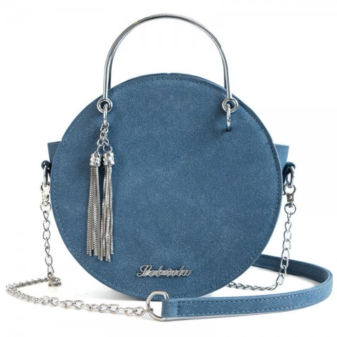Medium Round Vintage Shoulder Bags with Tassel