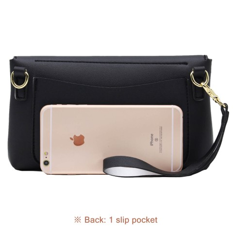 Mini wristlet shoulder phone bag