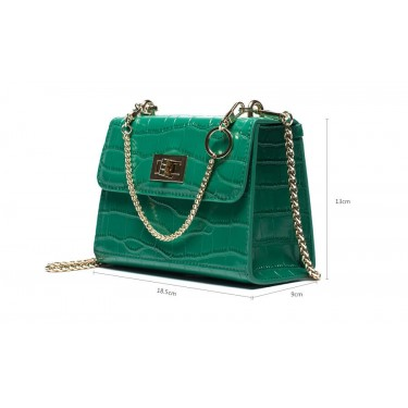 Medium Crocodile Leather Shoulder Bag Wholesale
