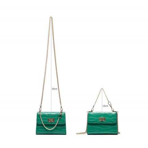 Medium Crocodile Leather Shoulder Bag Wholesale