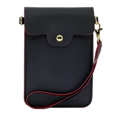 Leather Phone bag wallet crossbody purse
