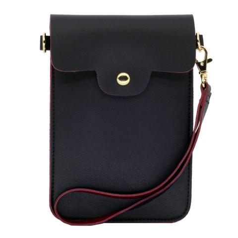 Leather Phone bag wallet crossbody purse