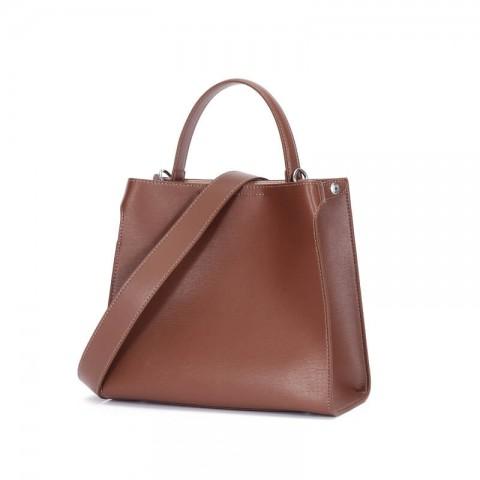 Custom genuine leather crossbody tote hobo bag
