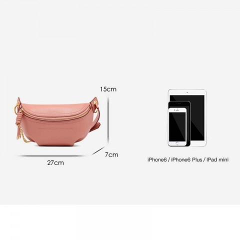 Pink Crossbody bags-sling pack for women