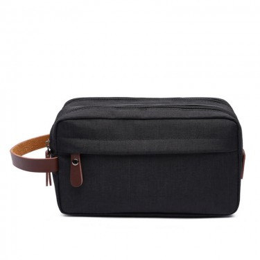 Custom PU leather toiletry bag/makeup bags for men/women