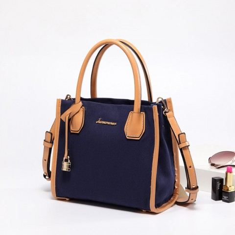 Custom canvas crossbody tote bag