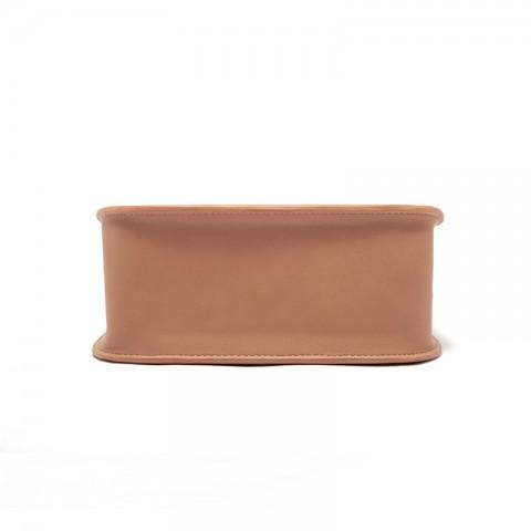 Geometric Flap Leather Shoulder